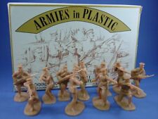 WWI Toy Soldiers Russian Infantry Figures 20 Tan Armies in Plastic 1/32