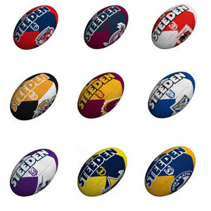 Steeden NRL Team Supporter Ball (Size 5) | Pick Your Favourite Teams