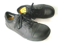 KEEN Mens US 10.5 EUR 44 Black Leather Lace Up Work Shoes ASTM F2892-11 EH