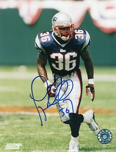 Lawyer Milloy New England Patriots Signed Autographed 8x10 Glossy Photo COA