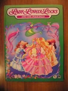 LADY LOVELY LOCKS and the pixietails 1° ed. AMZ Italia Uno 1 1988 vintage