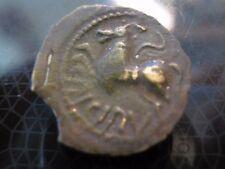 Monnaie Gauloise bronze des Suessions dite monnaie criciru au cheval ailé