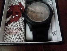 MARVEL ULTIMATE SPIDERMAN  BLACKOUT WATCH IN GIFT BOX ACCUTIME SPD1443