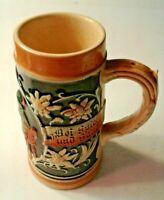 Vintage Beer Stein  Made in Western Germany NO LID  #6