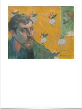 PAUL GAUGUIN LES MISERABLES FLOWER LIMITED EDITION BIG BORDERS ART PRINT 18X24