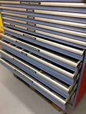 More details for lista style 11 roller bearing drawer tool cabinet german masterpiece a beauty !