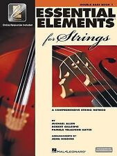 Essential Elements 2000 for Strings: Double Bass/Book 1 [W/ CD (Audio)] {NEW}***