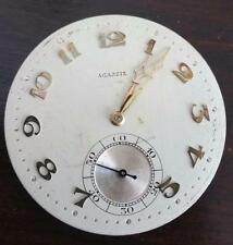 VINTAGE HIGH GRADE AGASSIZ POCKET WATCH MOVEMENT 38.7MM