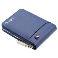 Men's Wallet Leather Credit Card Holder Zipper Pocket Purse Female Coin Clutch
