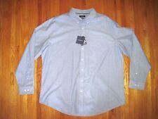 Croft & Barrow Men's Blue Oxford Button Down Long Sleeve Shirt Size 2XL-Tall NWT