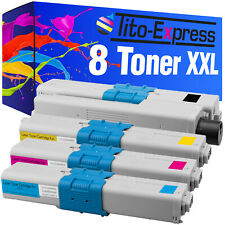 8 Toner XXL ProSerie für OKI MC 361 DN MC 362 DN MC 561 DN MC 562 DN MC 562 DNW