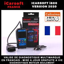 Valise Diagnostique Pro Multimarque En Français Obd2 avec Ecran - iCarsoft i800