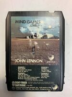 Mind Games 8 Track Tape 1973 John Lennon ElectronicsRecycledCom