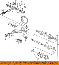 FORD OEM Rear Axle-Shaft Assembly F2SZ4B436A