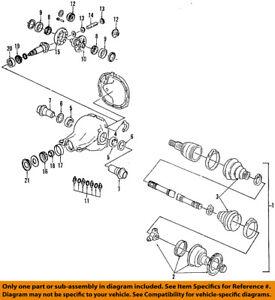FORD OEM Rear Axle-Inner CV Joint F4SZ4K326C