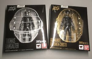 Daft Punk S.H. Figuarts Thomas Bangalter Guy-Manuel Figures Bandai Complete