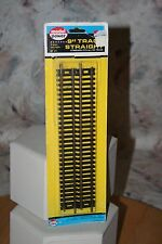 "MODEL POWER HO SCALE 9"" STRAIGHT TRACK 4-PIECE SECTION PACK #21 CODE 100 NOS LV"