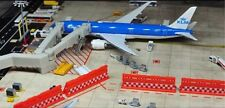 1/400 Airport GSE Blast Fence Type model (4 pieces sets)