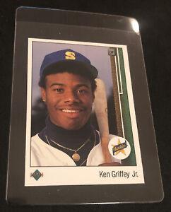 1989 Upper Deck #1 Ken Griffey Jr. ROOKIE NM+ Mariners HOF NO RESERVE