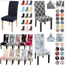 Stretch Dining Seat Chair Cover Slipcover Removable Banquet Wedding Home Decor