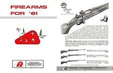 Interarms 1961 Gun Catalog