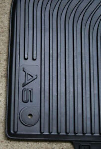2008 TO 2017 Audi A5 Factory OEM Accessory All Season Rubber Floor Mats -4 Piece