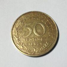 50 centimes LAGRIFFOUL 1962 col 3 plis Num4