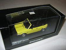 1:43 VW Golf Cabrio gelb 1980 MINICHAMPS 400055130 L.E. 1 of 1680 OVP new