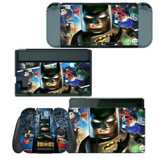 Batman Super Heroes - Nintendo Switch Skin Decal Sticker Vinyl Wrap