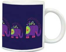 Blue Color Mug Ceramic Serve Ware 350 Ml Diwali Birthday Gift Patch Pack Of One