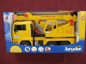 TRUCK TELECRANE BRUDER  TRACTOR CONSTRUCTION TELE CRANE 4500  TELE-CRANE TC 4500