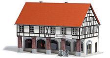 Busch 1539 Buschheide Altstadthaus mit Arkaden Echt Holz Spur H0 Neu/OVP
