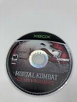 Microsoft Xbox Disc Only Tested Mortal Kombat: Deadly Alliance Ships Fast