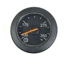 "Anmetek NGI 2"" Black Transmission Oil Temperature Gage 100 - 350 F. MRAP Trucks"