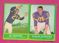 1963 TOPPS LOS ANGELES RAMS  EX-MT CARD LOT  (INV# C4493)