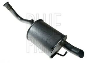 Exhaust Back / Rear Box fits TOYOTA YARIS NLP90 1.4D 05 to 08 1ND-TV