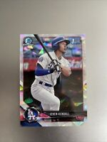 JEREN KENDALL DODGERS 2018 BOWMAN CHROME ATOMIC REFRACTOR RC #23 RC ROOKIE MINT!