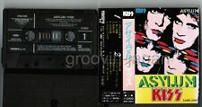KISS Asylum JAPAN CASSETTE TAPE w/PS(No flap) X28R-2003 No Insert Free S&H/P&P