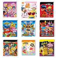 TV Animation Cartoon Mini Sticker Book 24 Sheets Anime Name Label Point Index