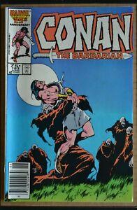 CONAN THE BARBARIAN # 183 : FINE : JUNE 1986 : MARVEL COMICS.