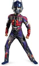 Optimus Prime Transformer Muscle Costume Size  10-12  Dress Up Costume