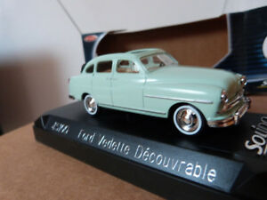 Ford miniature 1/43 - Vedette Découv. 1953 - Solido Réf : 45100