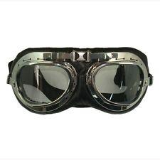 Vintage Goggle Black : Scooter Bike Racing Motorcycle Helmet Accessories