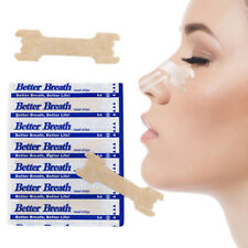 5-1000 NASAL STRIPS (SMALL/MED/LARGE) Breathe Better & Reduce Snoring Right Now