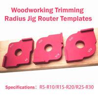 Positionneur rapide de filet de menuisier Quick-Jig Routeur Coin Modèle Outil