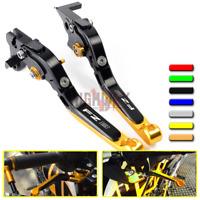 CNC Adjustable Extendable Brake Clutch Levers For YAMAHA FZ8 FAZER 2011-2015
