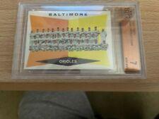 1960 Topps #494 Baltimore Orioles Team NR-MINT Graded Becket 7.0