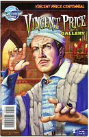 VINCENT PRICE GALLERY #2, NM, Horror, Robinson, 2011, more VP in store