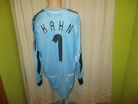 "Deutschland ""DFB"" Original Adidas Torwart WM Trikot 2006 + N.1 Kahn Gr.XL TOP"