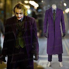 Joker Heath Ledger Cosplay Costume Accessories Partywear